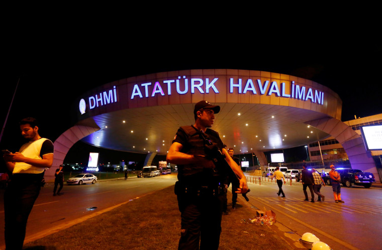 Image: Ataturk airport in Istanbul on June 29, 2016