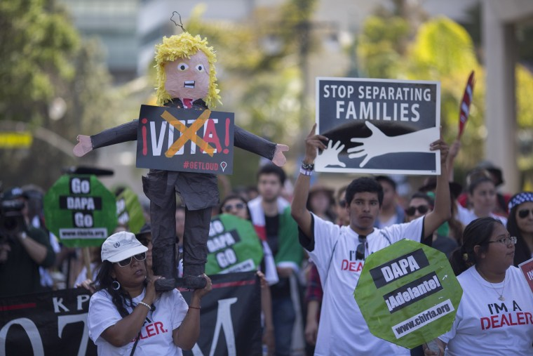 Image: Rally And March Held On May Day In Los Angeles