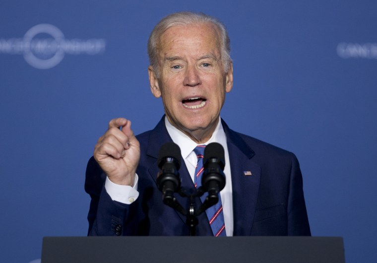 Image: Joe Biden speaks at the Cancer Moonshot Summit
