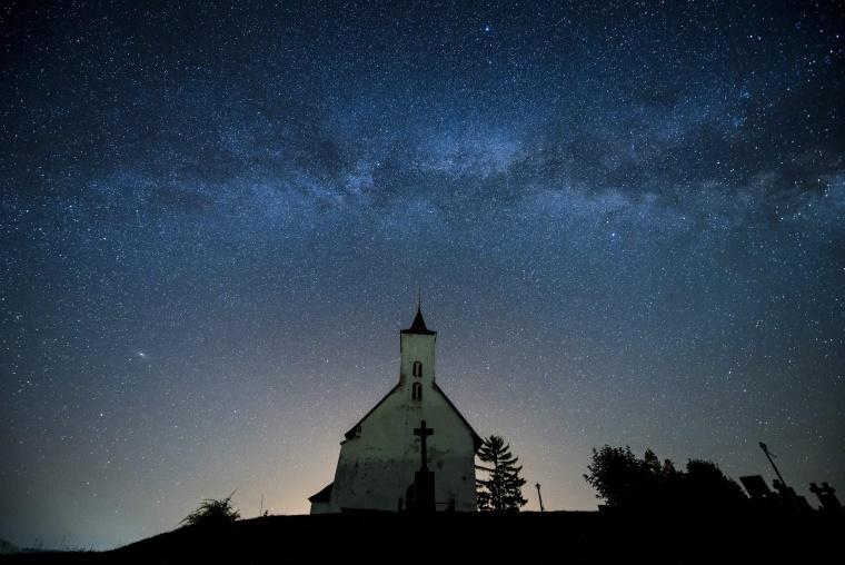 Image: Slovakia night sky