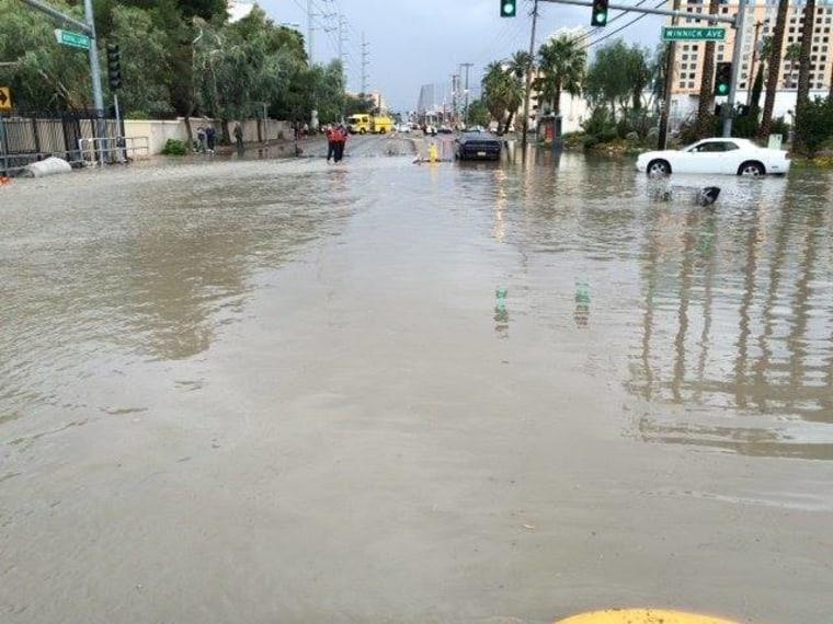 IMAGE: Clark County, Nevada, flooding