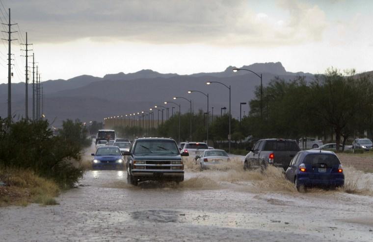 Image: Las Vegas flooding