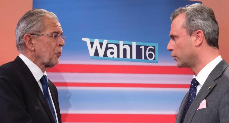 Image: Alexander Van der Bellen and Norbert Hofer
