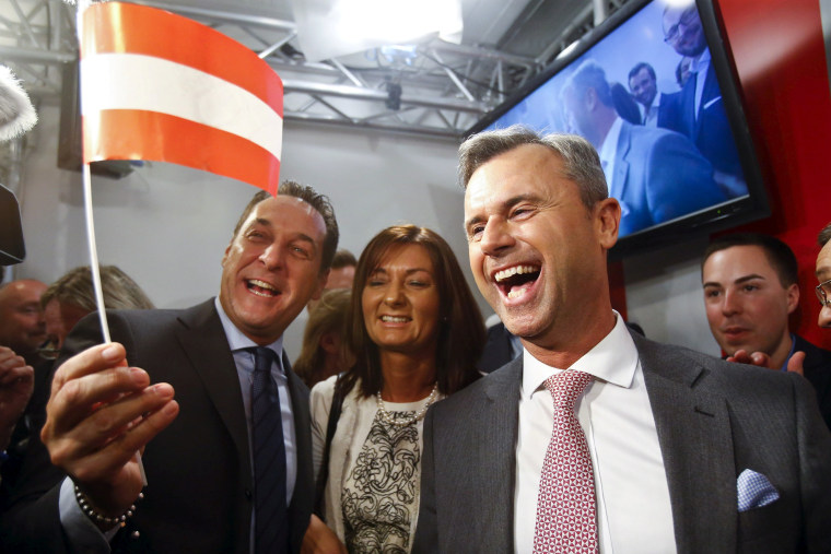 Image: Heinz-Christian Strache and Norbert Hofer