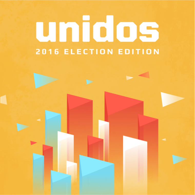 The Unidos voter registration app.