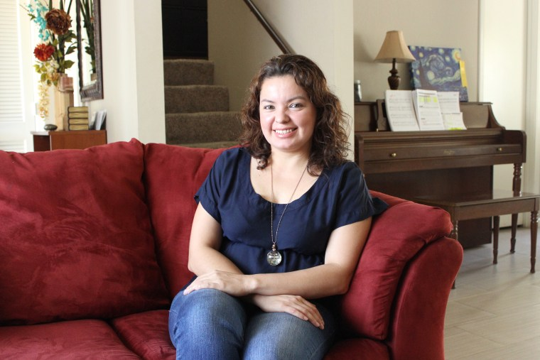 Karla Ayon, 36, has a degree in international trade