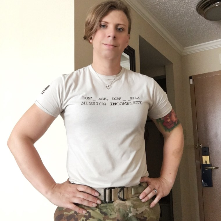 U.S. Army Infantry Soldier Patricia King