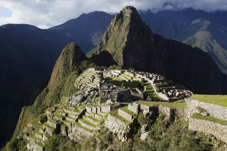 Image: File photo shows Inca citadel of Machu Picchu in Cusco