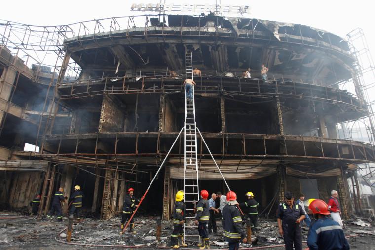 Image: Suicide car bomb in Baghdad