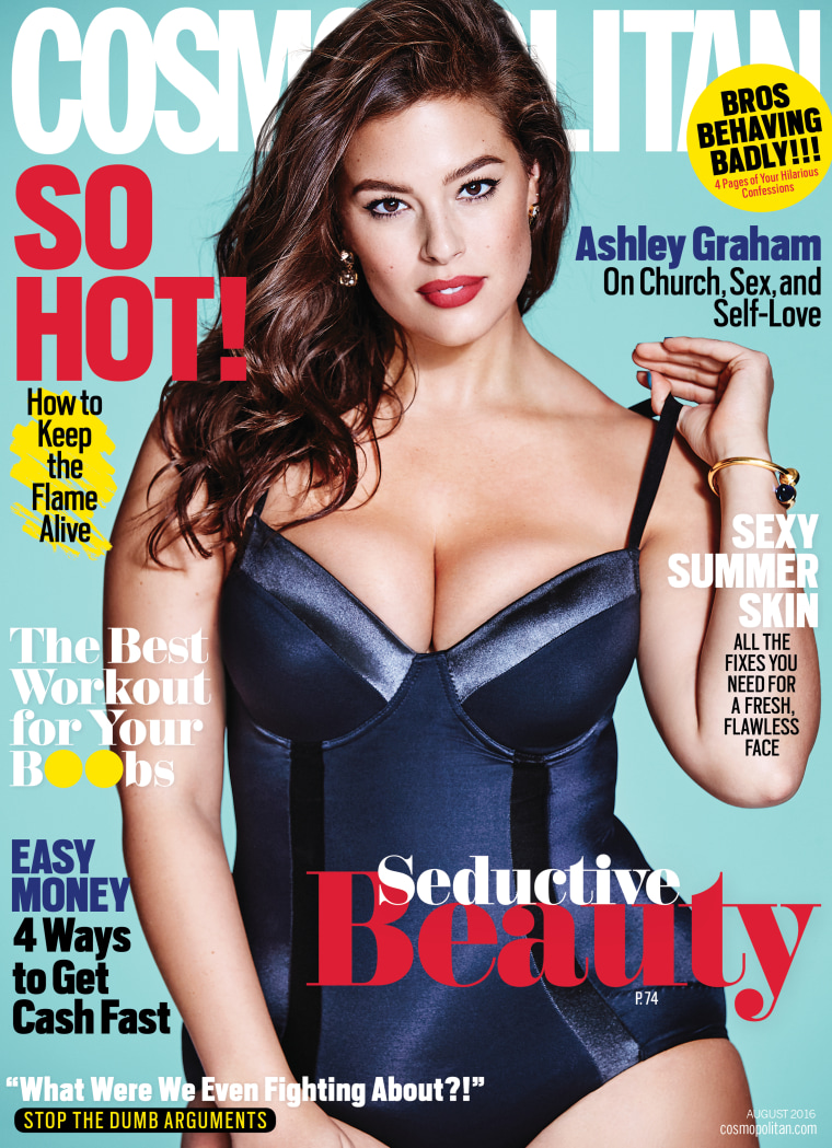 7c769692f36e2 Ashley Graham's Cosmopolitan cover: Thoughts on Amy Schumer, 'plus ...