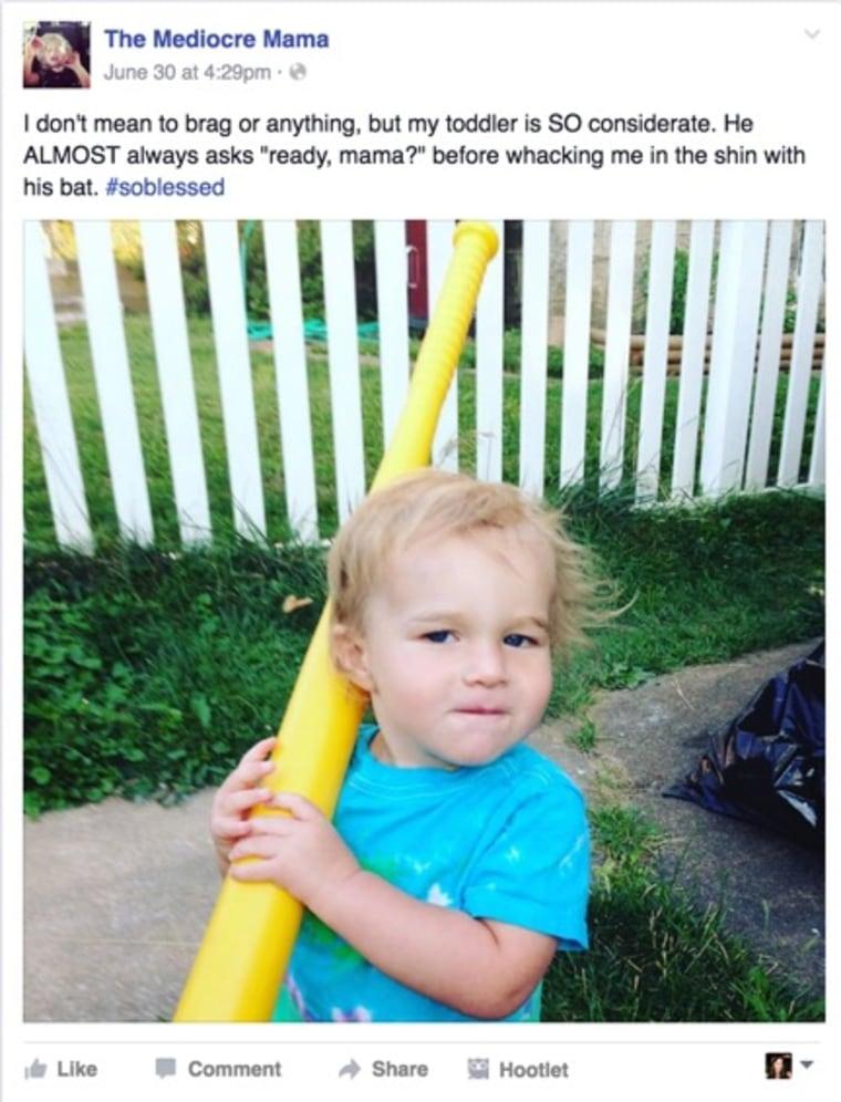 IMAGE: Facebook bat post
