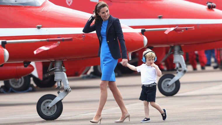 Catherine, Duchess of Cambridge and Prince George