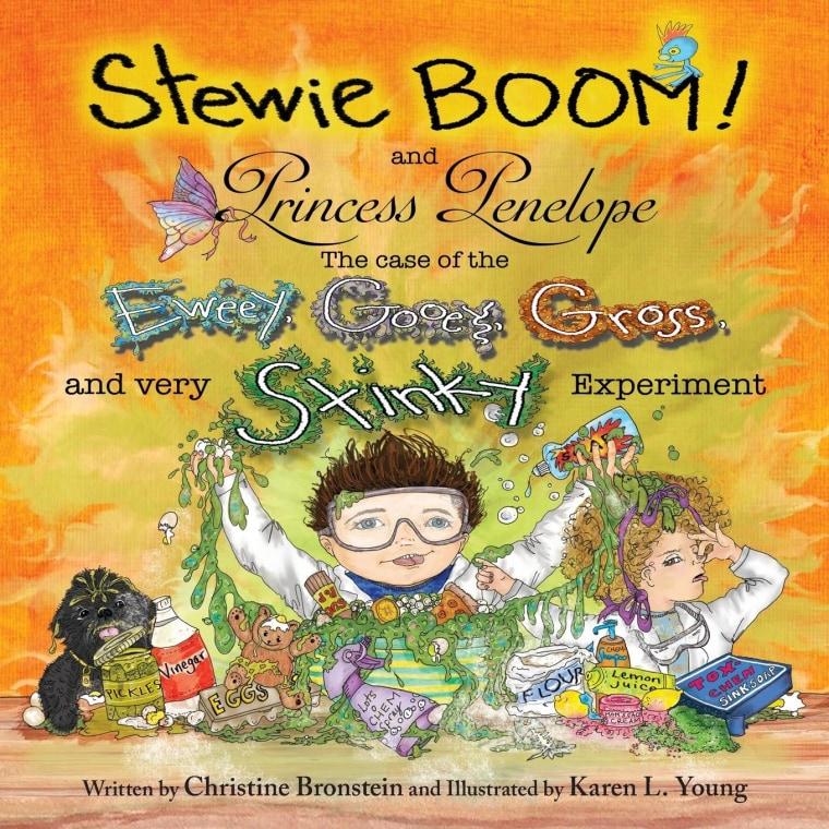 Stewie Boom! and Princess Penelope by Christine Bronstein