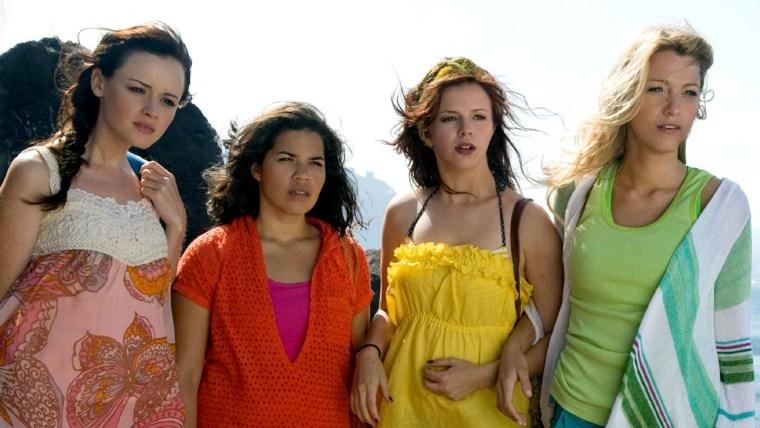 Alexis Bledel, America Ferrera, Amber Tamblyn,  Blake Lively