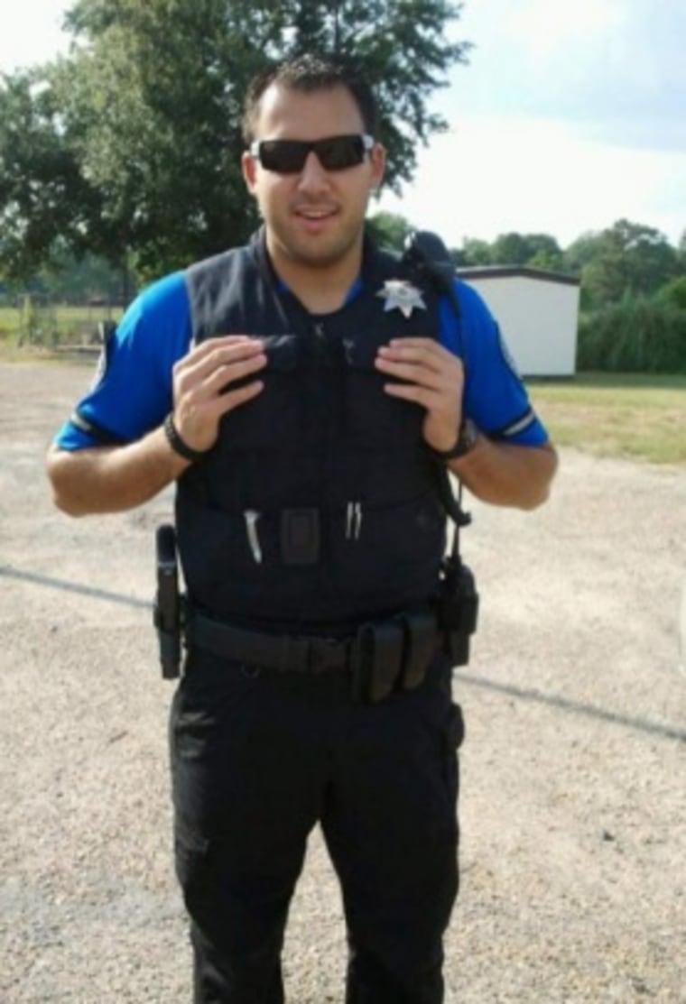 IMAGE: Sterlington police Officer David Elahi