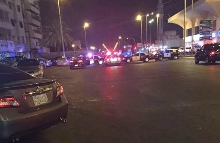 IMAGE: Attack on U.S. consulate in Jeddah, Saudi Arabia