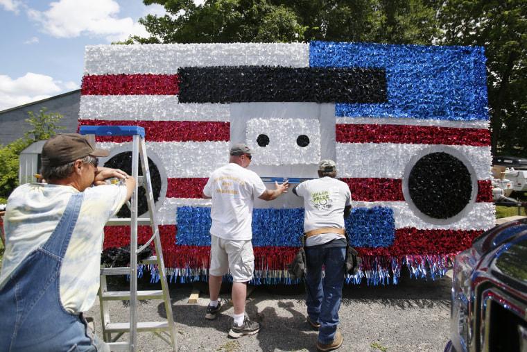 Image: America celebrates the Fourth of July