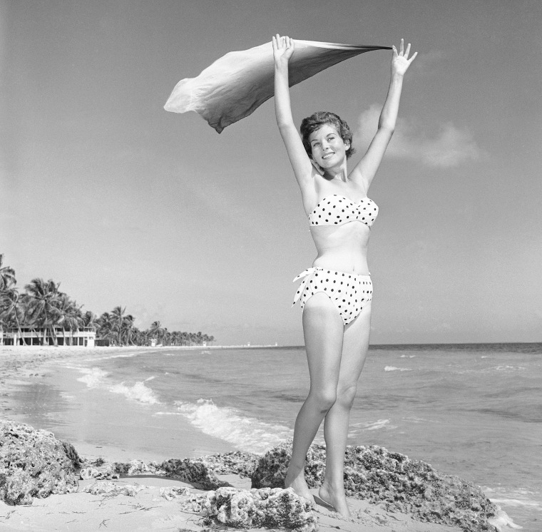 Image: Myrna Cooper at Crandon Park Beach in Miami