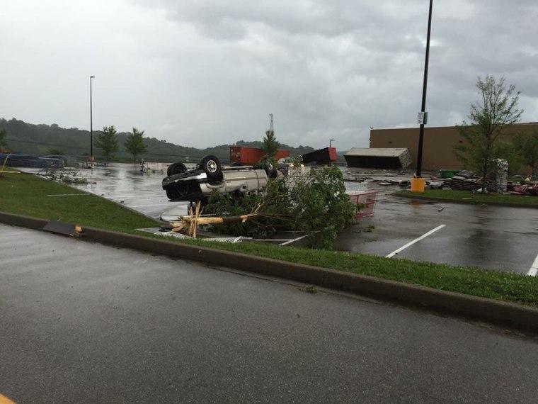IMAGE: Louisa, Kentucky, tornado damage
