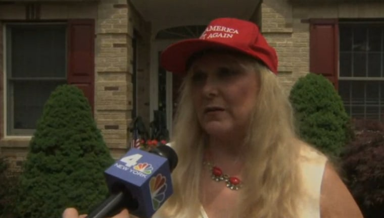 Esther Levy, a Trump supporter, claims she was refused service at a Mexican restaurant.