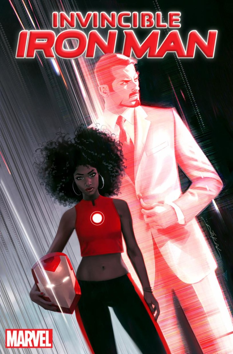 The new Iron Man is a Black Woman.