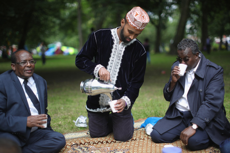 Image: The Muslim Festival Of Eid al-Fitr Is Celebrated Around The UK