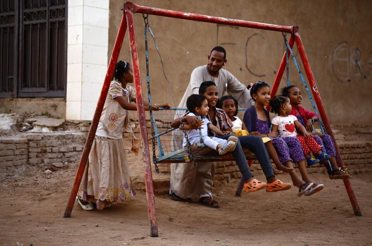 Image: SUDAN-RELIGION-ISLAM-EID
