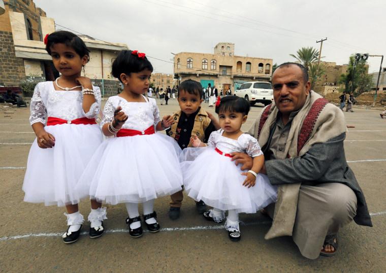 Image: Eid Al-Fitr in Yemen