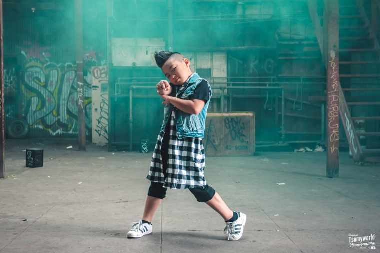 Aidan Prince Xiong is a 10-year-old dancer who has performed with with Justin Bieber, Missy Elliott, and Flo Rida.
