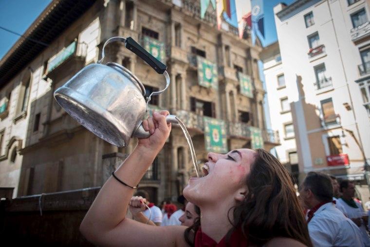Image: SPAIN-FESTIVAL-TOURISM-SAN-FERMIN