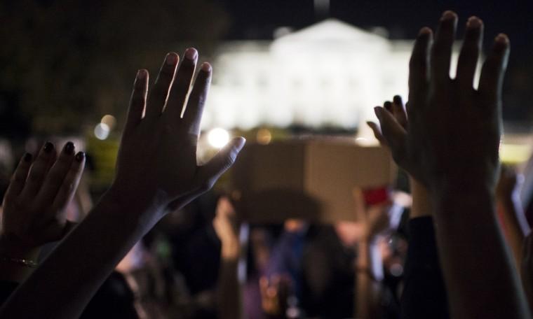 Ferguson Protest in Washington