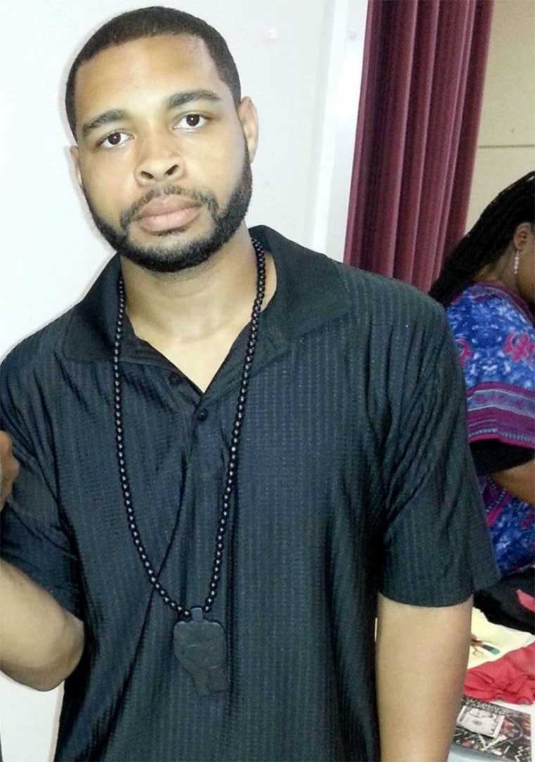 Micah Xavier Johnson, suspect who was killed after a standoff in the ambush of 12 Dallas police officers on Friday.