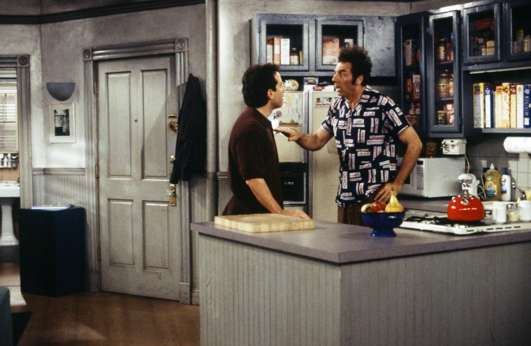 Image: A scene from the Seinfeld series finale