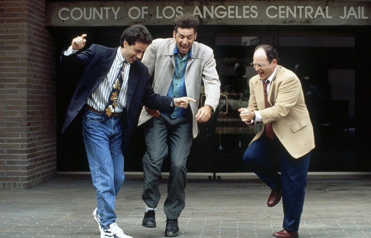 Image: A scene from Seinfeld