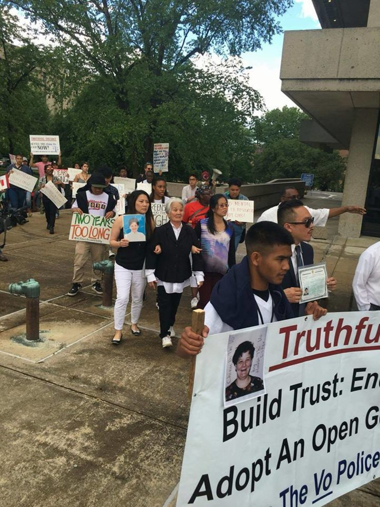 Justice march for Chieu Di Thi Vo, May 3, 2016