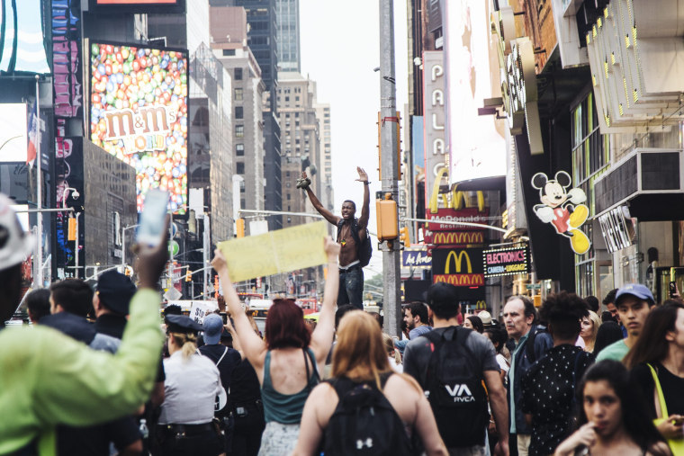 Image: Black Lives Matter protest in New York, New York