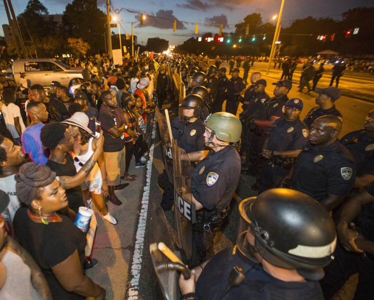 Image: Department Of Justice Launches Civil Rights Investigation In Shooting Of A Black Man By Baton Rouge Police Officer
