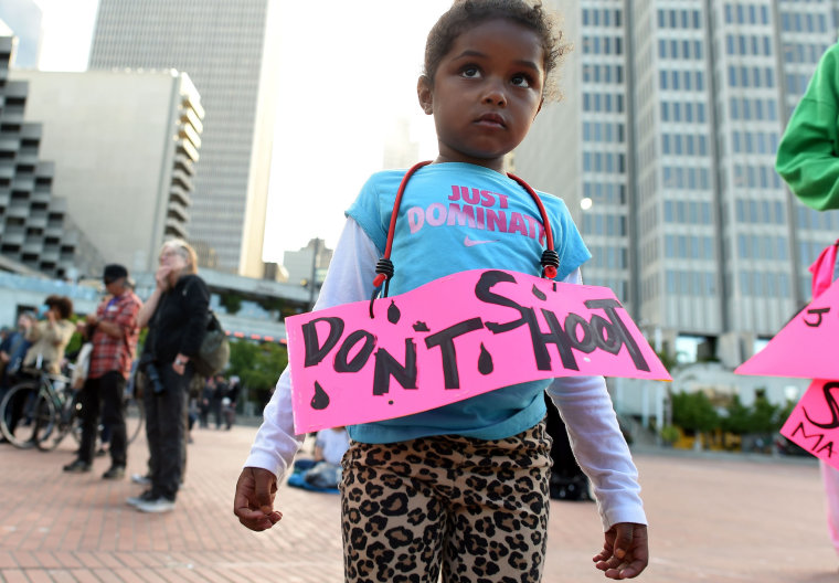 Image: TOPSHOT-US-POLICE-SHOOTINGS-PROTEST