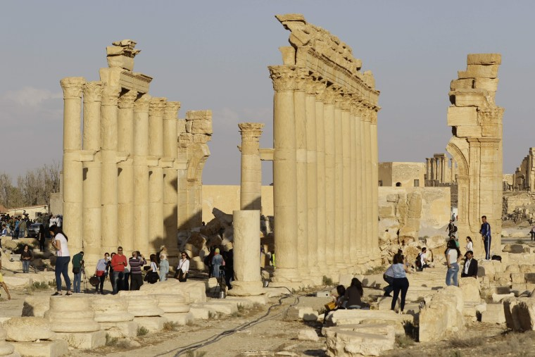 Image: SYRIA-CONFLICT-MUSIC-PALMYRA