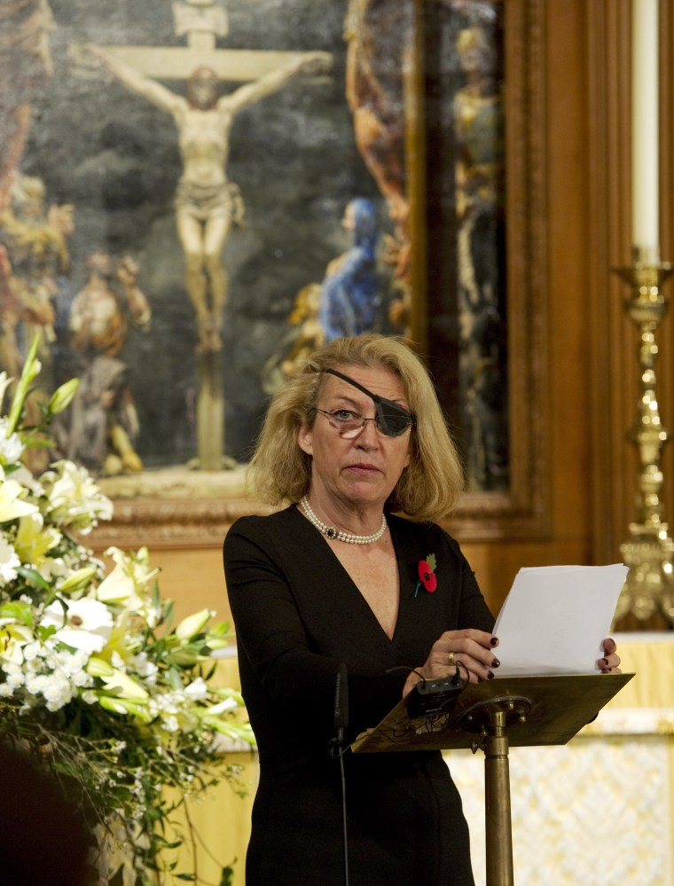 Image: Camilla, Duchess of Cornwall Attends Service For War Wounded