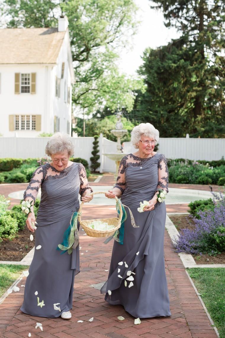 Flower girl grandmothers