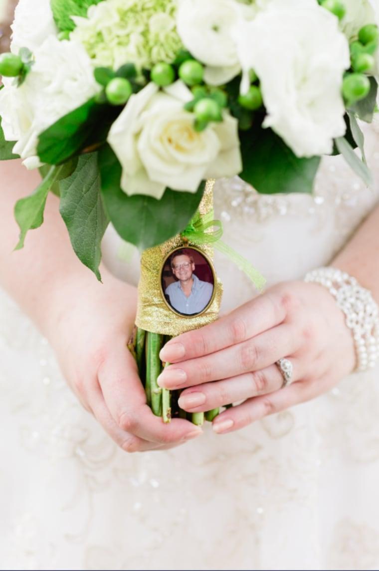 Maggie Wakefield's bouquet