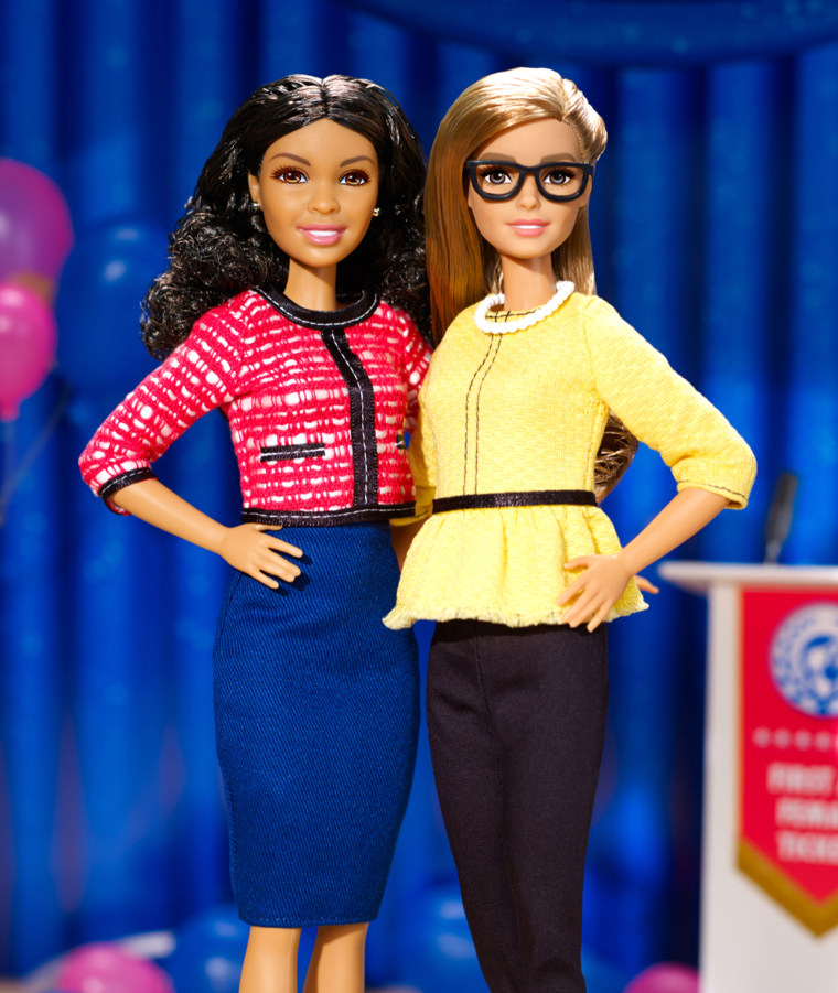 Forget Trump and Clinton, Barbie just revealed her running mate!