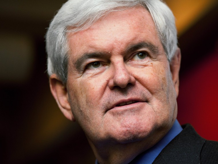 Image: FILE:  Newt Gingrich To Announce Run For President