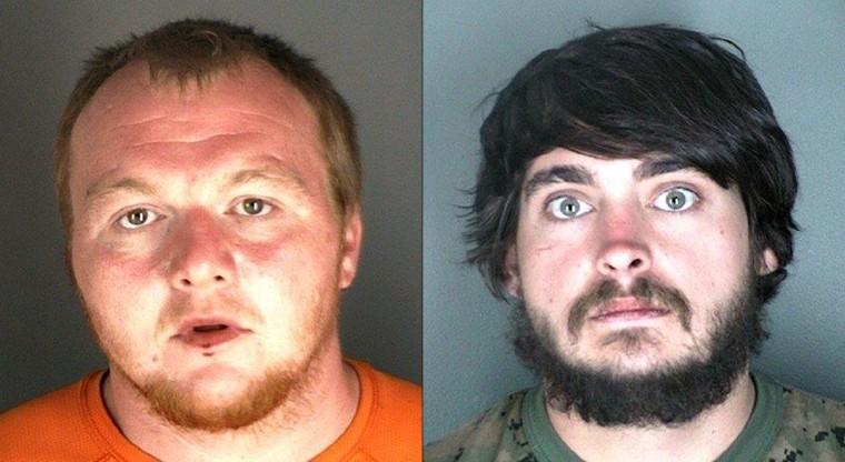 Image: Jimmy Andrew Suggs (Left) and Zackary Ryan Kuykendall