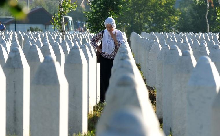 Image: TOPSHOT-BOSNIA-WARCRIMES-SREBRENICA-ANNIVERSARY