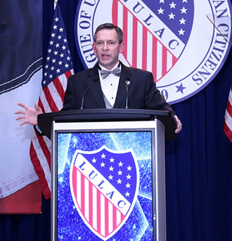 Brent Wilkes, executive director of LULAC, at legislative summit.