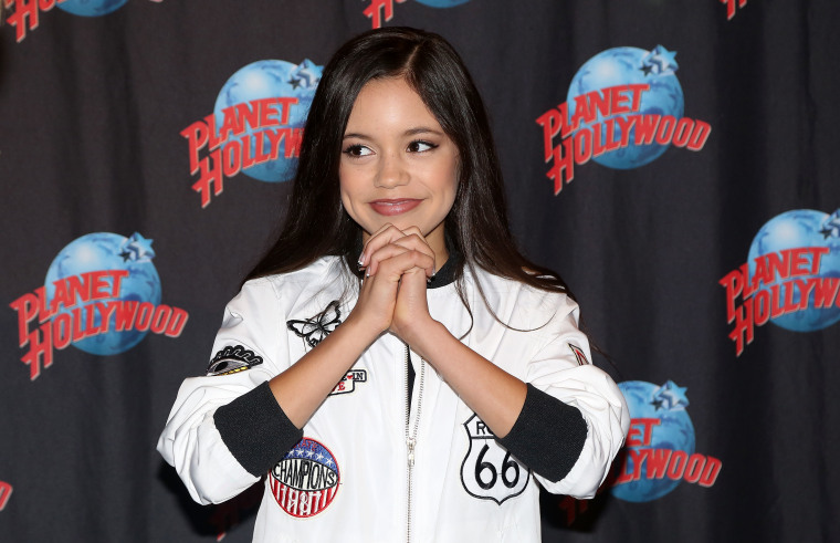 Jenna Ortega Visits Planet Hollywood Times Square