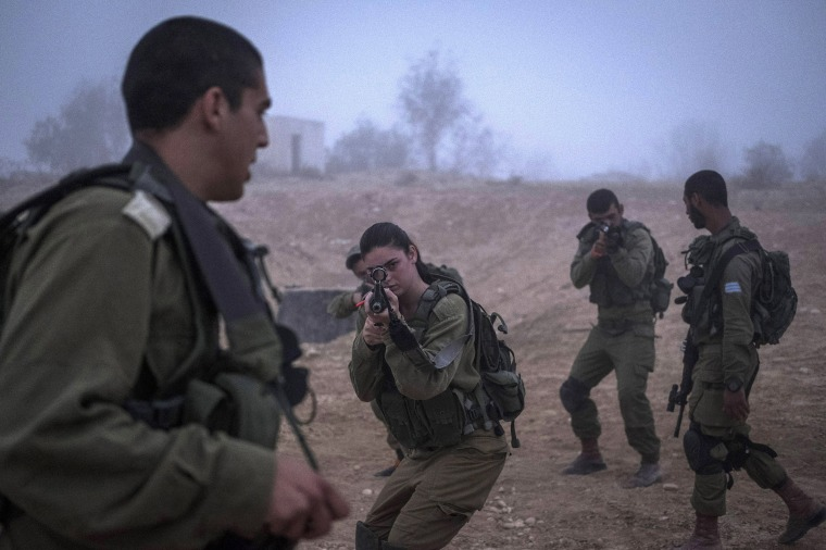 Image: *** BESTPIX *** Israel's Special Unit Bardales Take Part in Training Exercise