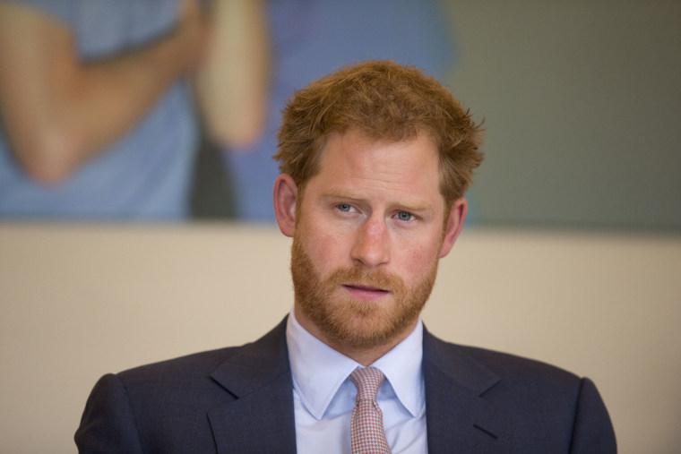 Image: Prince Harry.